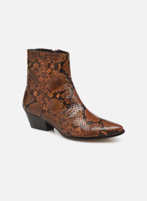 Bottines et boots L.K. Bennett Choral Marron vue détail/paire