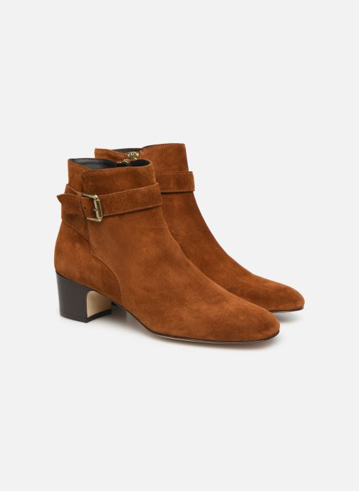 Ankle boots L.K. Bennett Jerrie Brown 3/4 view