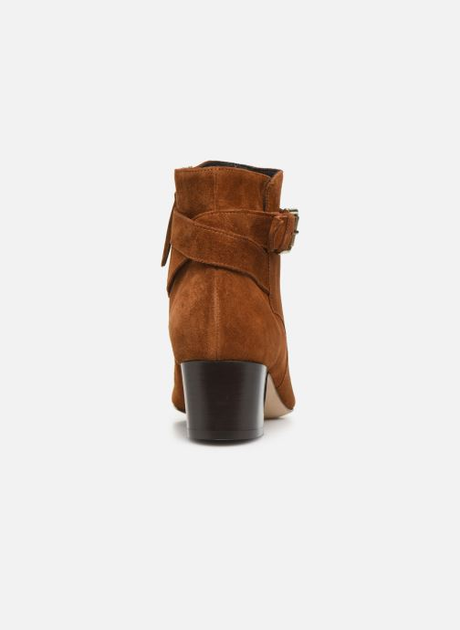 Ankle boots L.K. Bennett Jerrie Brown view from the right