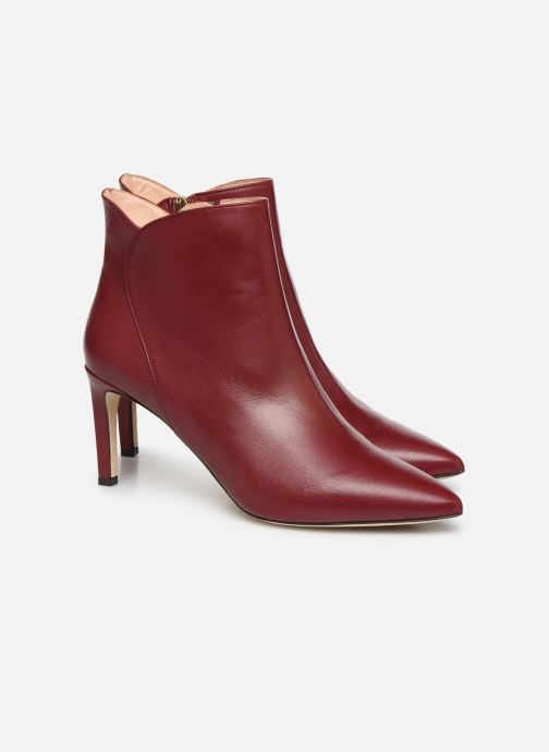 Ankle boots L.K. Bennett Maja Red 3/4 view