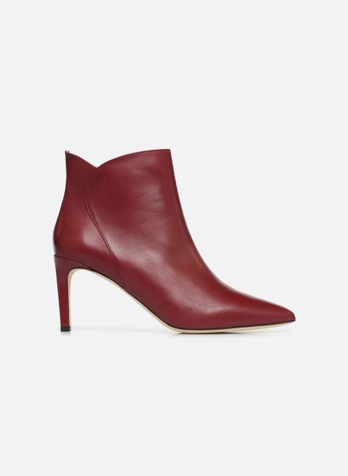 Ankle boots L.K. Bennett Maja Red back view
