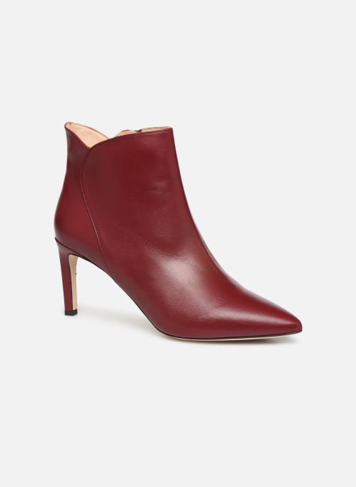 Ankle boots L.K. Bennett Maja Red detailed view/ Pair view