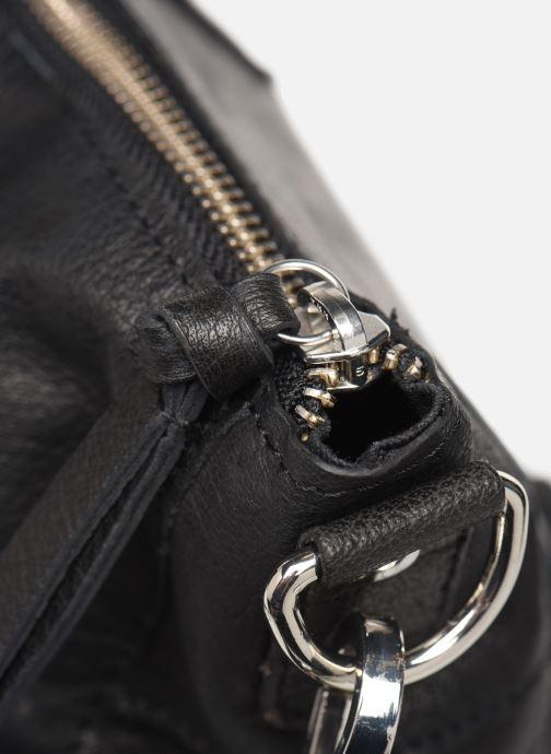 Borse Pieces Ingrid leather daily bag Nero immagine sinistra