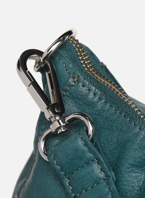 Pieces Ingrid leather daily bag Håndtasker 1 Blå hos Sarenza