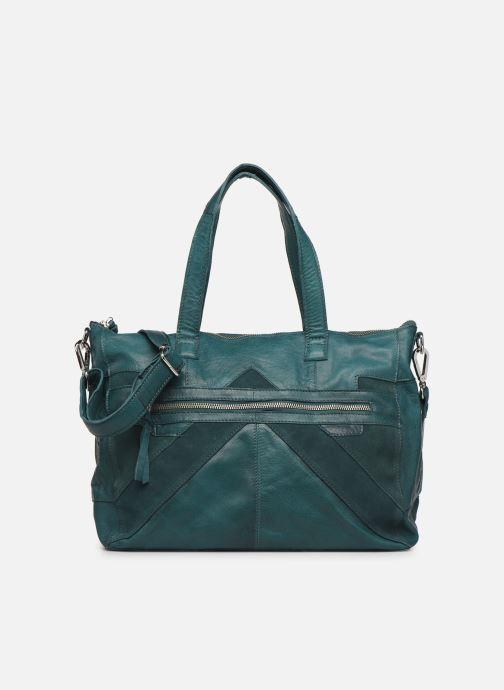Handtaschen Pieces Ingrid leather daily bag blau detaillierte ansicht/modell