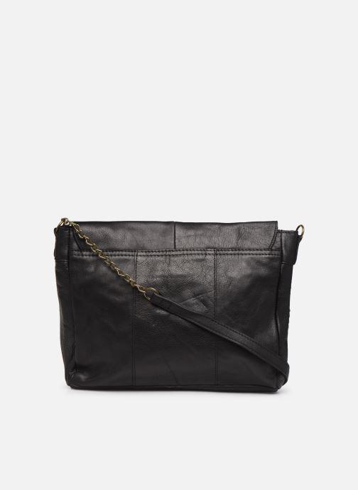 Sacs à main Pieces Hiromi Leather Crossbody Noir vue face