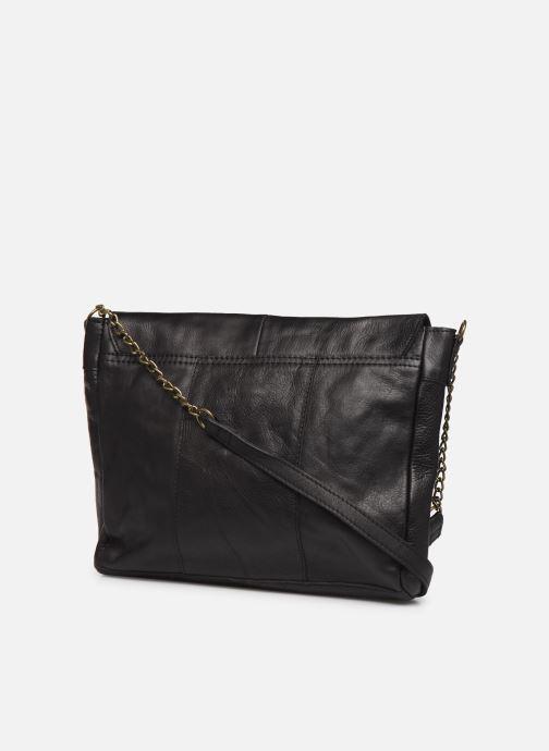 Sacs à main Pieces Hiromi Leather Crossbody Noir vue droite
