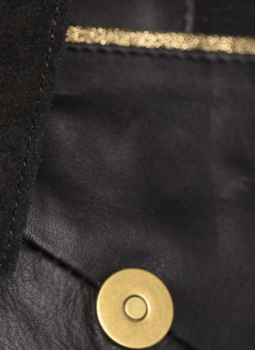 Sacs à main Pieces Hiromi Leather Crossbody Noir vue gauche