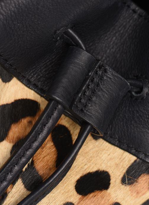 Bolsos de mano Pieces Illen Tighten Bag Marrón vista lateral izquierda