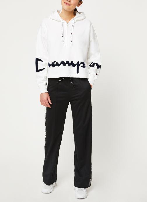 Vêtements Champion Hooded sweatshirt big logo Rose vue bas / vue portée sac