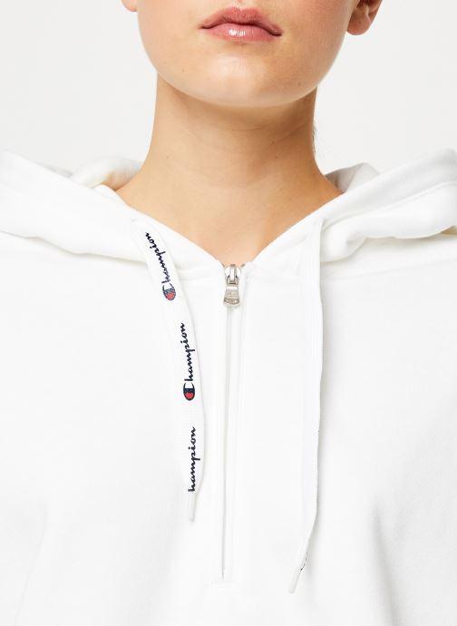 Vêtements Champion Hooded sweatshirt big logo Rose vue face
