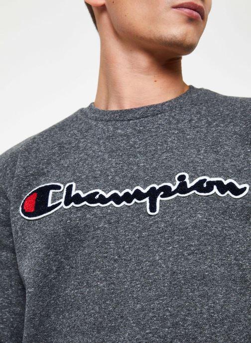 Vêtements Champion Crewneck sweatshirt Gris vue face