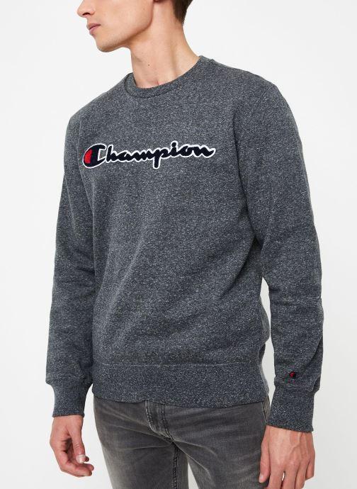 Vêtements Champion Crewneck sweatshirt Gris vue droite