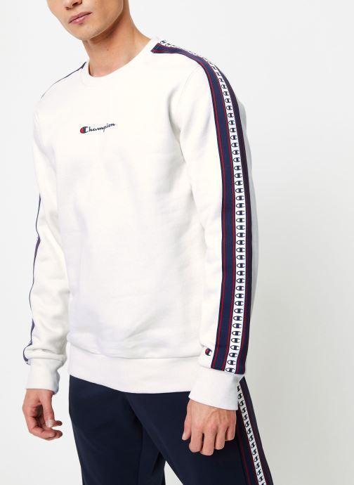 Vêtements Champion Crewneck sweatshirt Beige vue droite