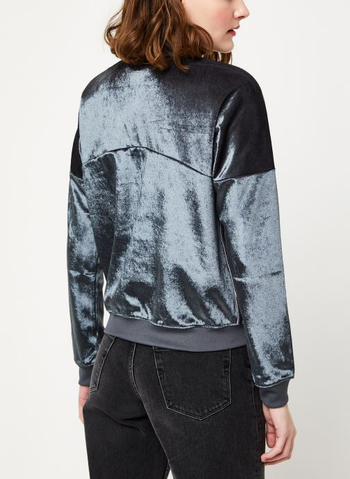 Vêtements Champion Half zip sweatshirt Noir vue portées chaussures