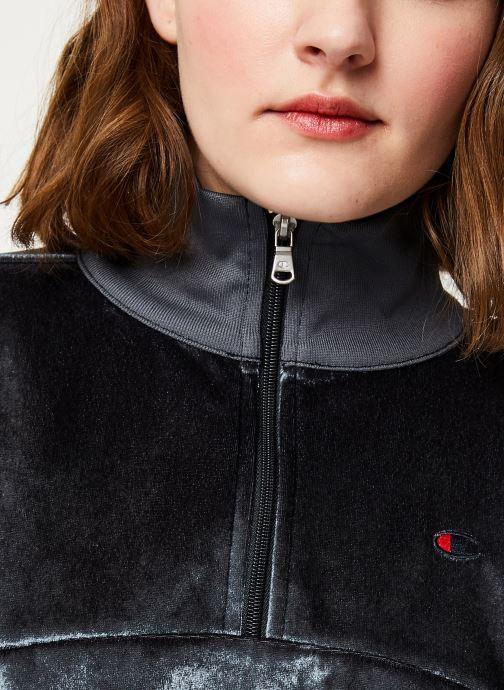 Vêtements Champion Half zip sweatshirt Noir vue face
