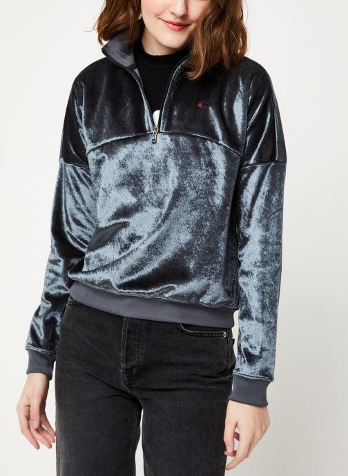 Vêtements Champion Half zip sweatshirt Gris vue détail/paire
