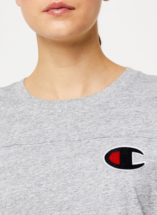 Kleding Champion Crewneck t-shirt Grijs voorkant