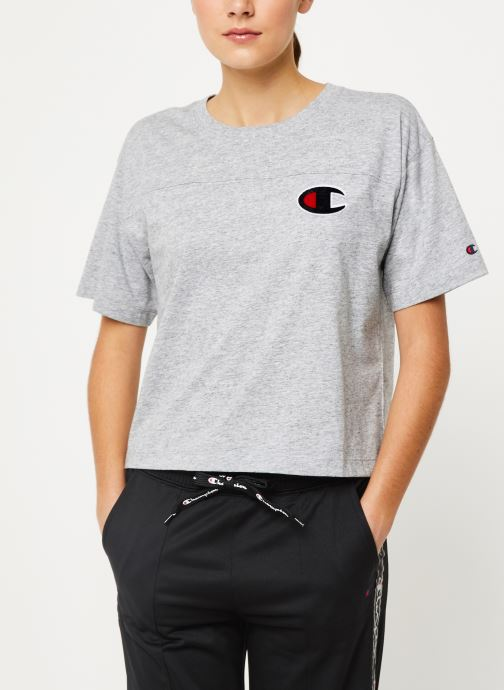 Kleding Champion Crewneck t-shirt Grijs rechts
