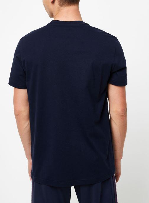 Kleding Champion Crewneck t-shirt Blauw model