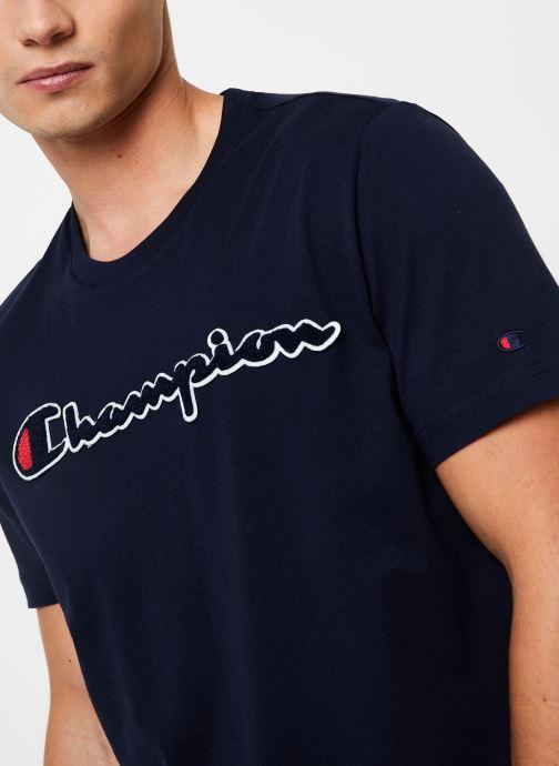 Kleding Champion Crewneck t-shirt Blauw voorkant