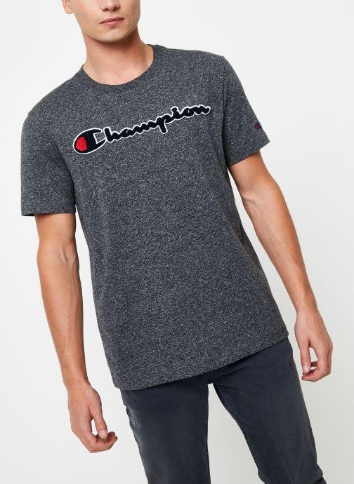 Kleding Champion Crewneck t-shirt Grijs detail