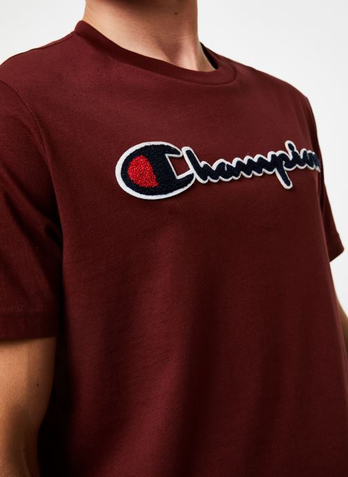 Vêtements Champion Crewneck t-shirt Bordeaux vue face