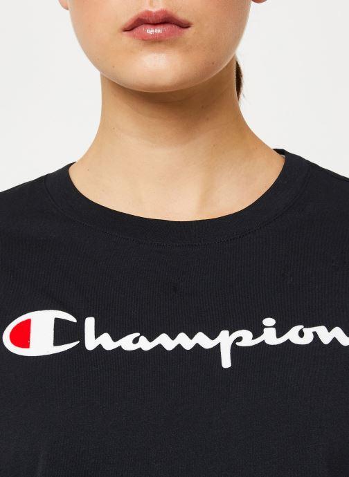 Vêtements Champion Crewneck t-shirt W Noir vue face
