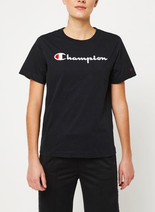 Vêtements Champion Crewneck t-shirt W Noir vue détail/paire