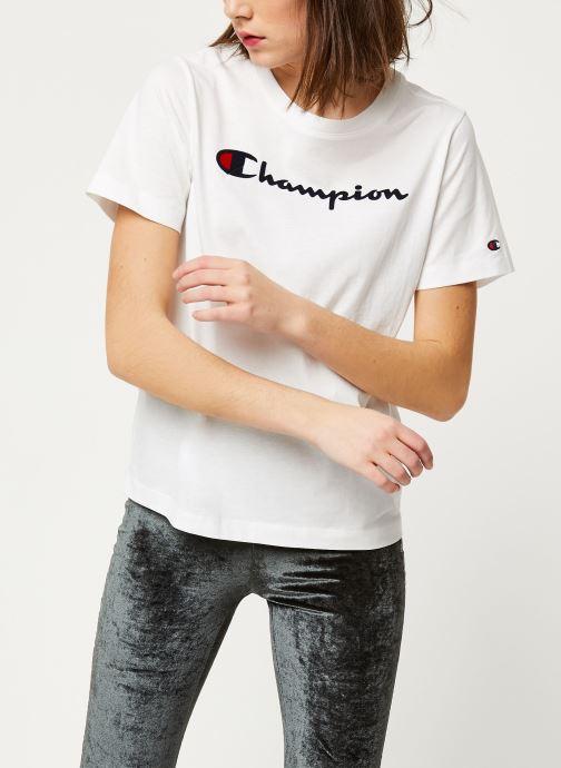 Kleding Champion Crewneck t-shirt W Wit rechts