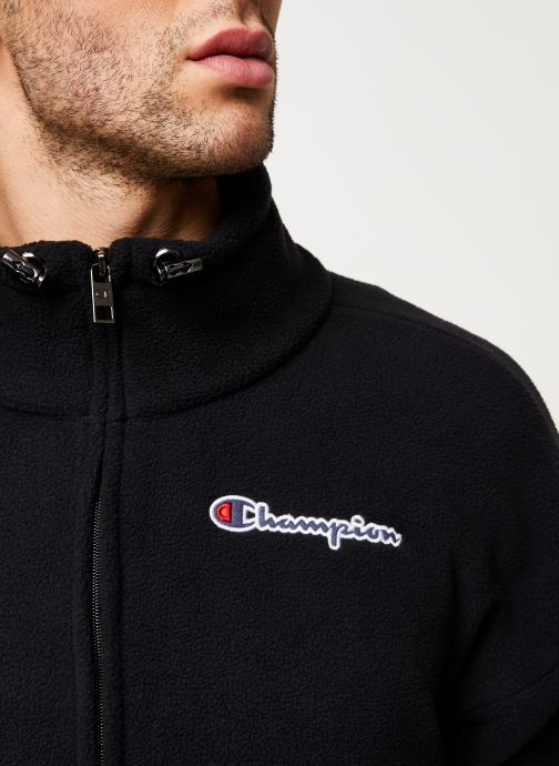 Kleding Champion Full zip sweatshirt Zwart voorkant