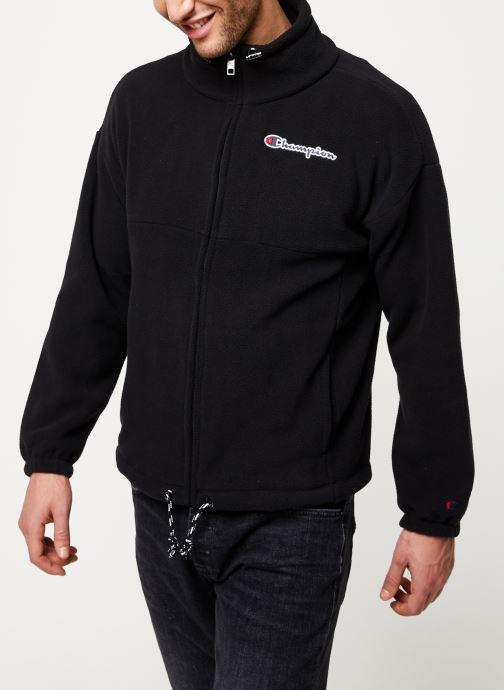 Kleding Champion Full zip sweatshirt Zwart detail