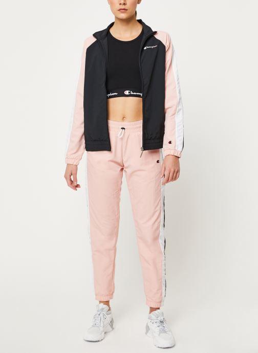 Vêtements Champion Elastic cuff pants Rose vue bas / vue portée sac
