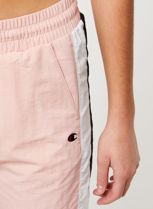 Vêtements Champion Elastic cuff pants Rose vue face