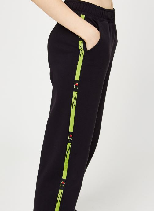 Vêtements Champion Elastic cuff pants Noir vue face