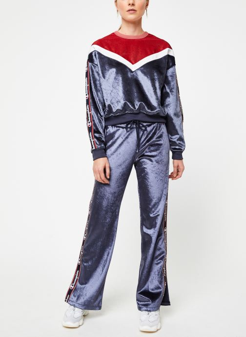 Vêtements Champion Pants Bleu vue bas / vue portée sac
