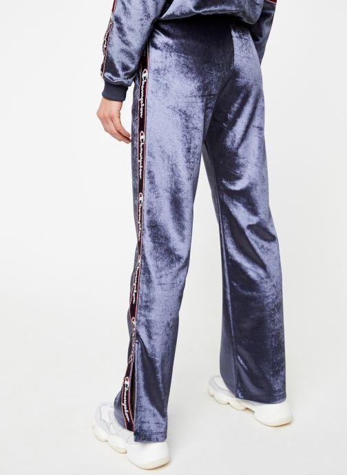 Vêtements Champion Pants Bleu vue portées chaussures