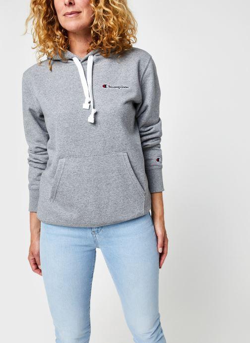 Ropa Champion Hooded sweatshirt Gris vista de detalle / par