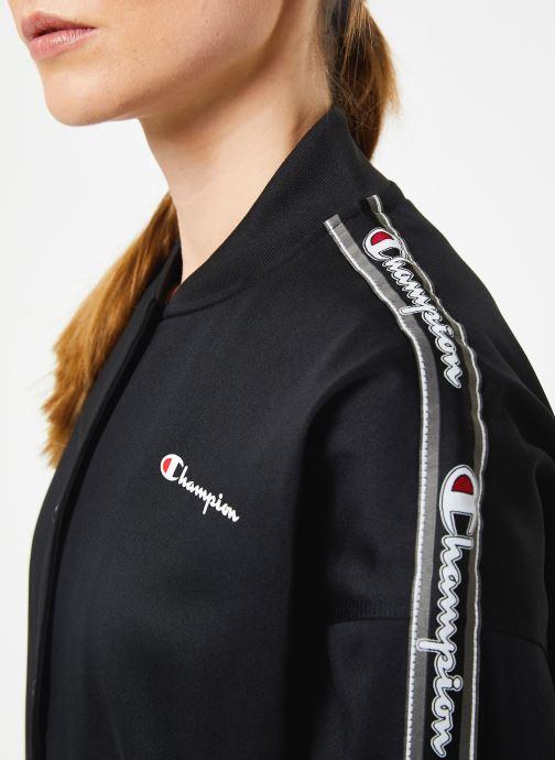 Kleding Champion Bomber jacket Zwart voorkant