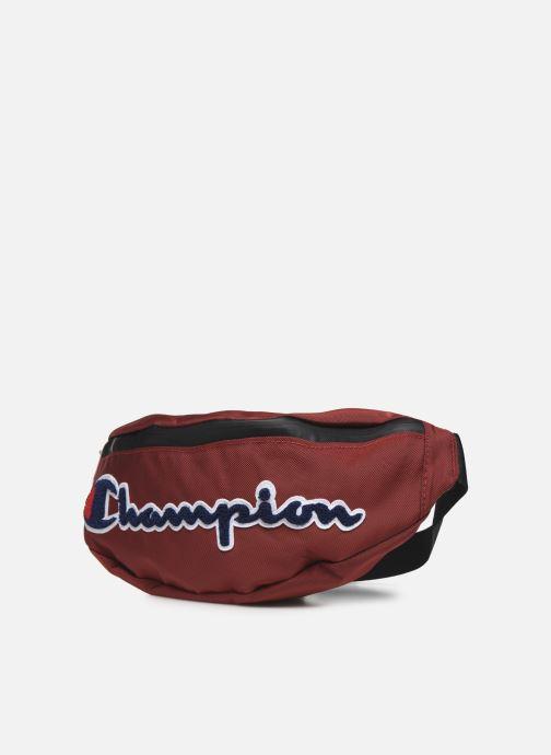 Petite Maroquinerie Champion Blet bag R Rouge vue portées chaussures