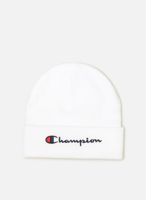 Muts Champion Beanie cap Wit detail
