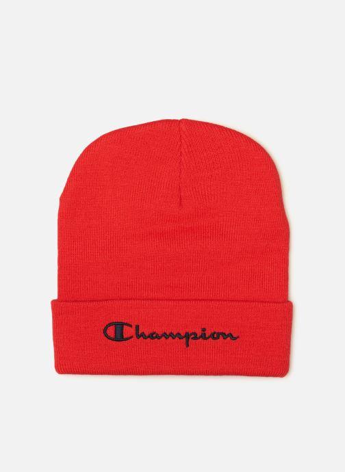 Bonnets Champion Beanie cap R Rouge vue détail/paire