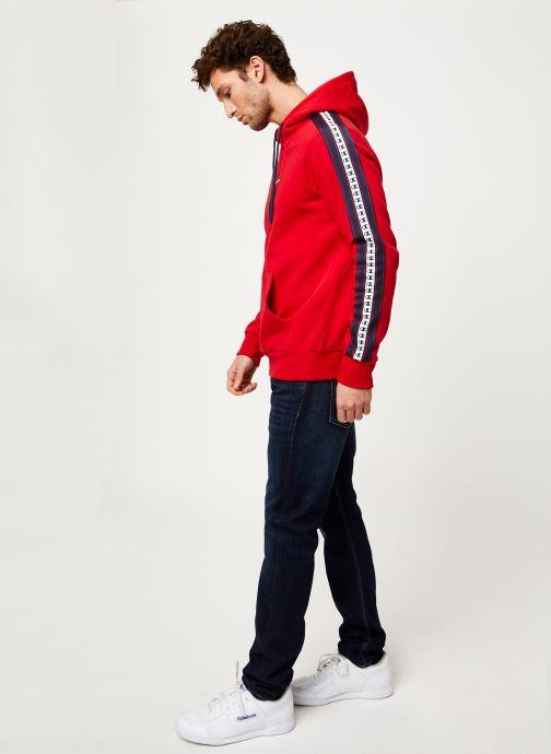 Kleding Champion Champion Large Script Logo Hooded Sweatshirt Rood onder