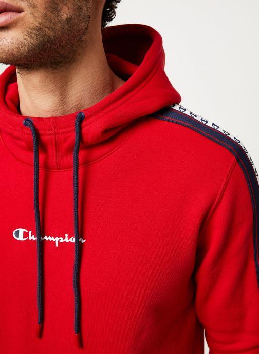 Kleding Champion Champion Large Script Logo Hooded Sweatshirt Rood voorkant