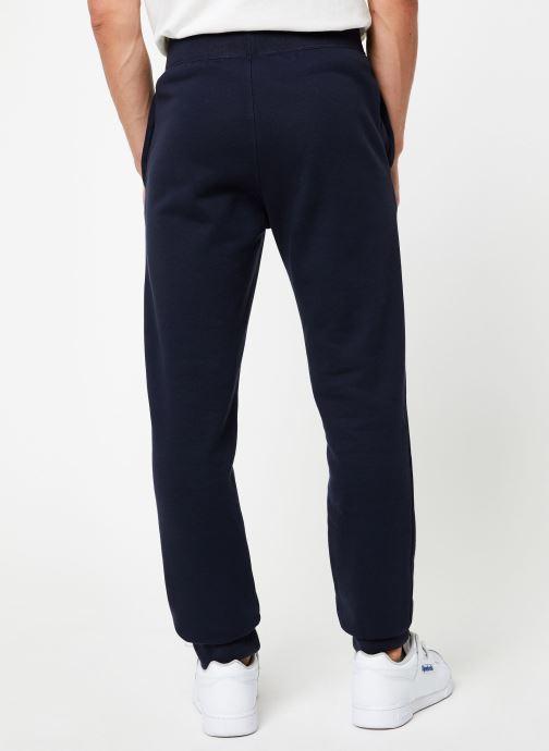 Vêtements Champion Rib cuff pants big logo Bleu vue portées chaussures