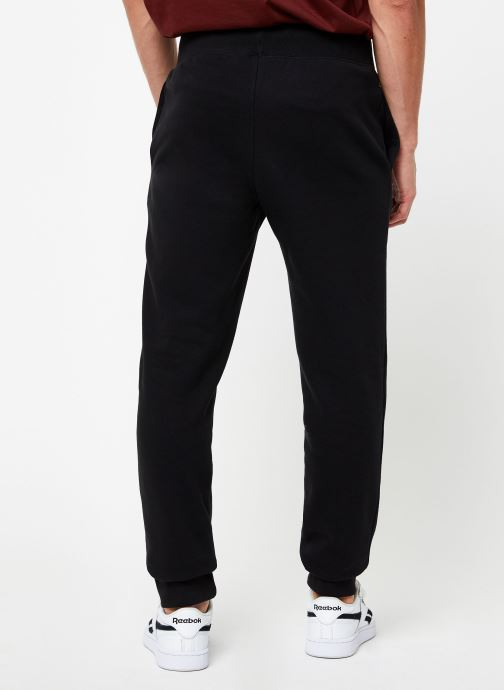 Vêtements Champion Rib cuff pants big logo Noir vue portées chaussures