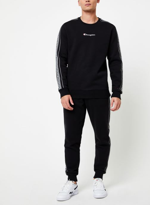 Kleding Champion Crewneck sweatshirt small logo Zwart onder
