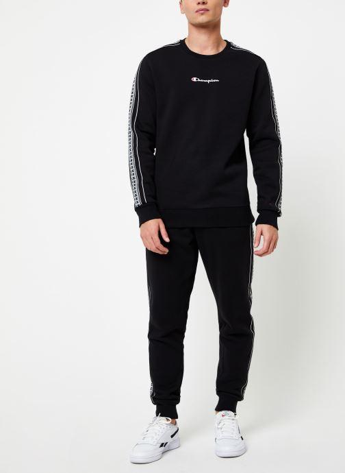 Vêtements Champion Crewneck sweatshirt small logo Noir vue bas / vue portée sac