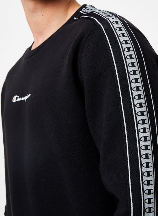 Vêtements Champion Crewneck sweatshirt small logo Noir vue face