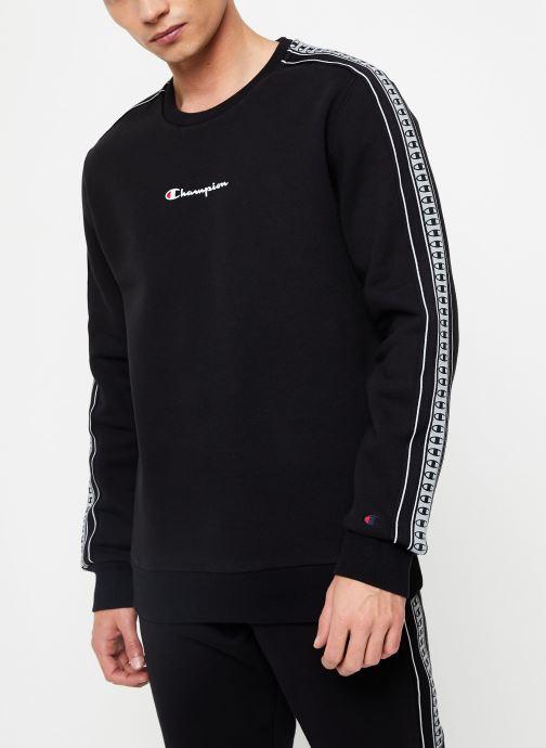 Vêtements Champion Crewneck sweatshirt small logo Noir vue droite